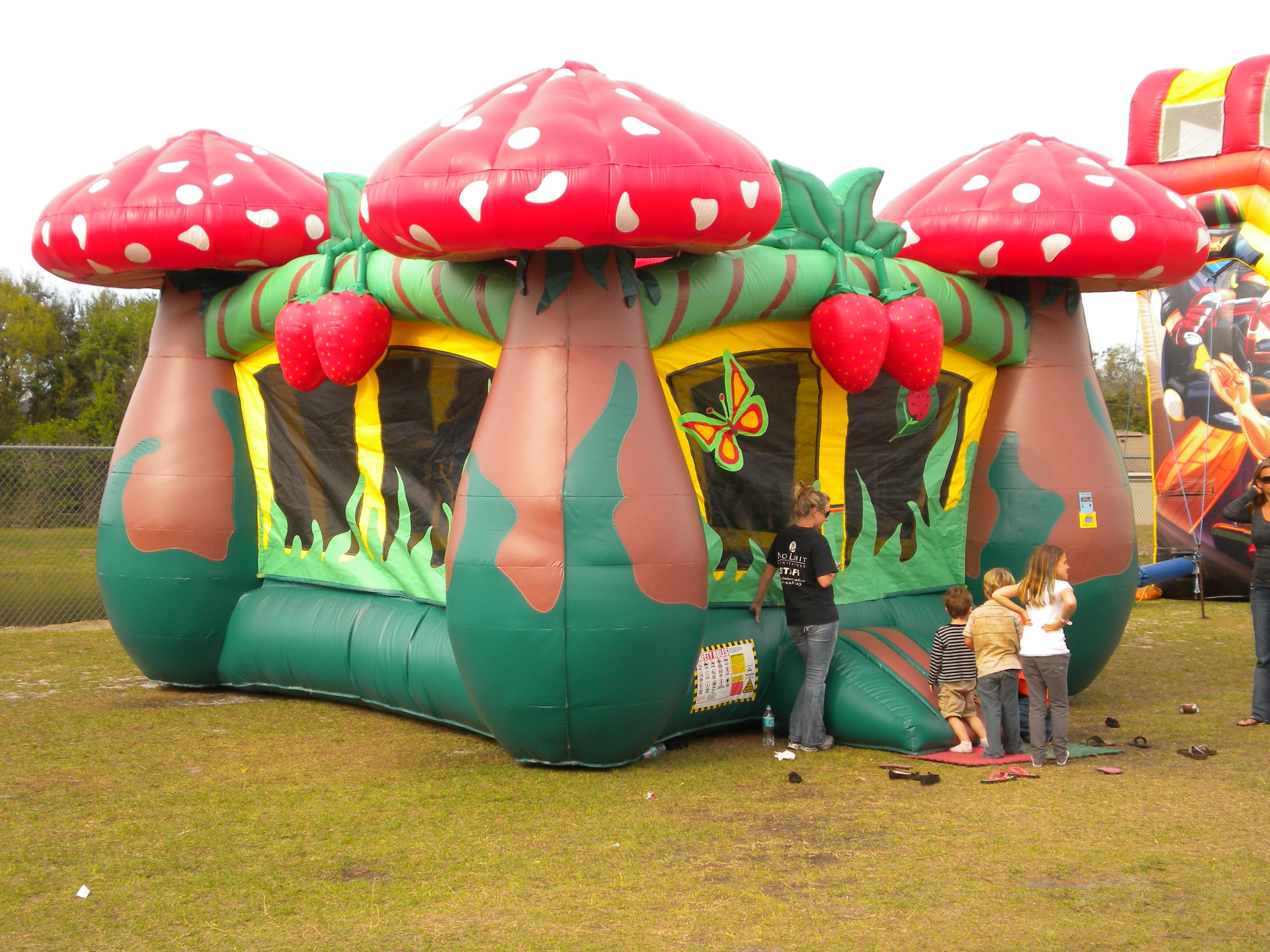 Strawberry Mushroom Bounce House