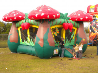Strawberry Mushroom Bounce House