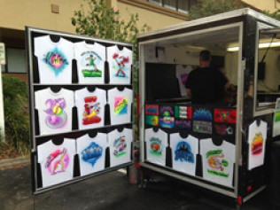 Airbrush T-Shirts - $375 Per Hour