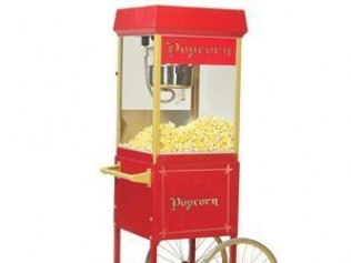 Popcorn Machine w/Old Fashion Cart