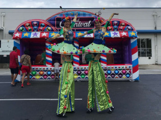 Stilt Walker - $175 Per Hour