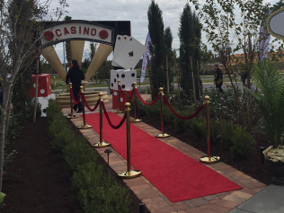 Stanchions / Red Carpet, 10ft or 25ft