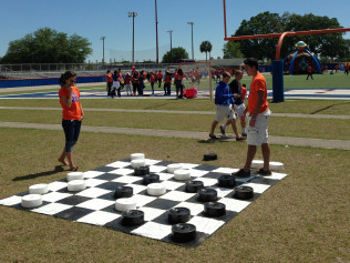 Giant Checkers $95