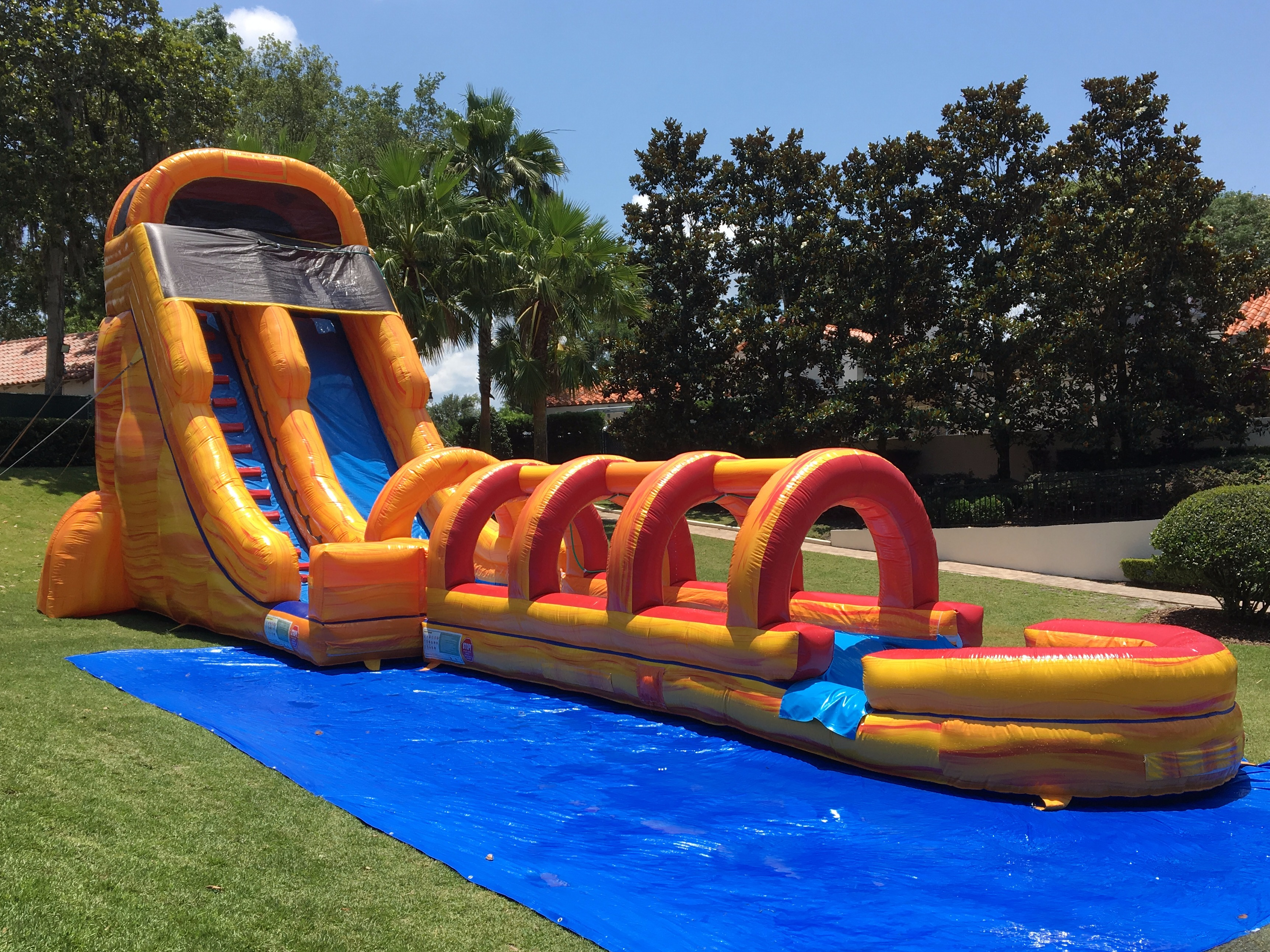Bounce Houses Water Slides Party Rentals Face Painters