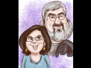 Digital Caricatures - $250 per hour